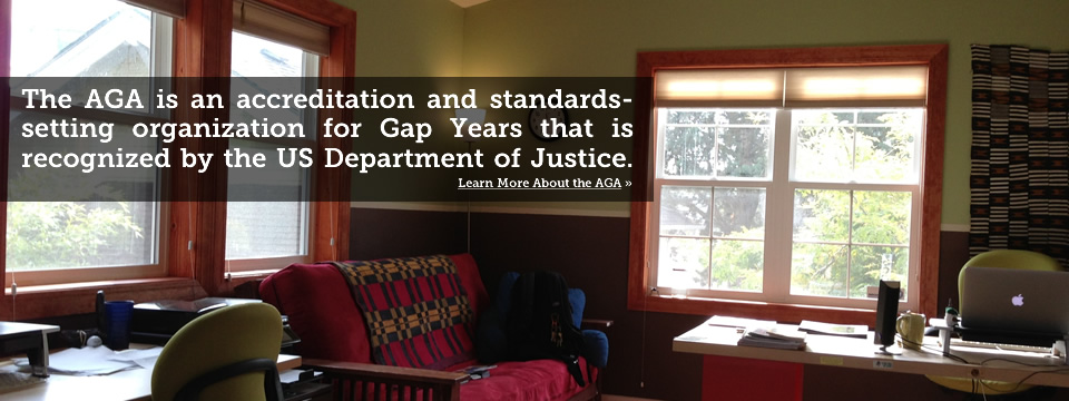 The American Gap Association is a Gap Year Non-Profit Accreditation and Standards Setting Organization Recognized by the US Department of Justice